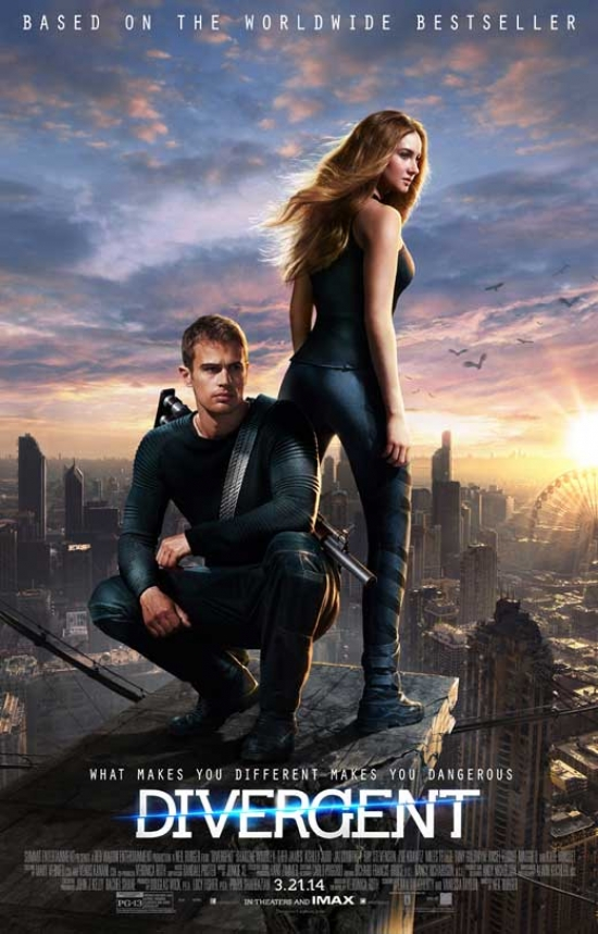 Divergent Movie Poster (11 x 17) by Pop Culture Graphics