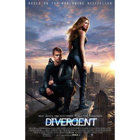 Divergent Movie Poster  11 X 17
