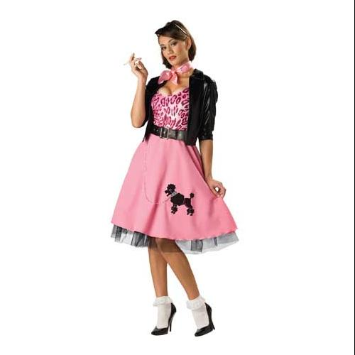 50u0027s Bad Girl Poodle Skirt Costume Adult  sc 1 st  Walmart & 50u0027s Bad Girl Poodle Skirt Costume Adult - Walmart.com