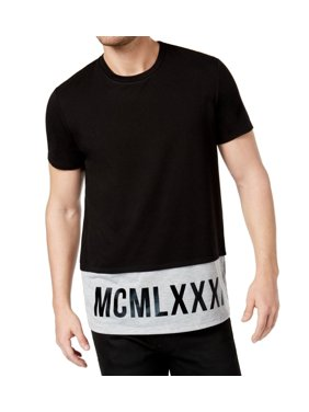 27aca284b7f6d4 Product Image GUESS Mens Pieced Colorblocked Graphic T-Shirt