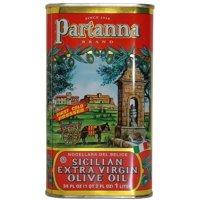 Partanna Extra Virgin Olive Oil Tin, 1 Liter