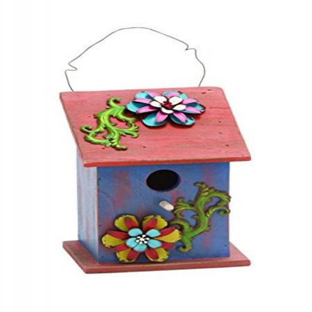 Benzara Rich Design and Natural Texture Bird House, Purple and Red on modern birdhouse designs, mosaic birdhouse designs, cute birdhouse designs, exotic birdhouse designs, awesome birdhouse designs, unusual birdhouse designs, interesting birdhouse designs, whimsical birdhouse designs, ornate birdhouse designs, creative birdhouse designs,