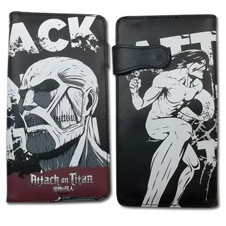Attack On Titan Titan Eren (Wallet - Attack on Titan - New Colossal Titan Vs Eren Toys Licensed)