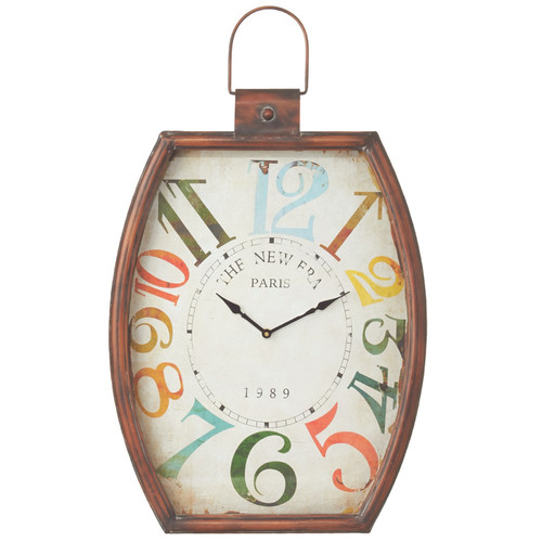 CBK Colorful Number Wall Clock by Midwest CBK