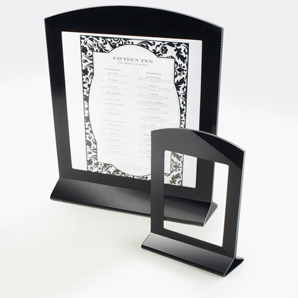4W x 6D x 1H Classic Arched Cardholder, 6 holders