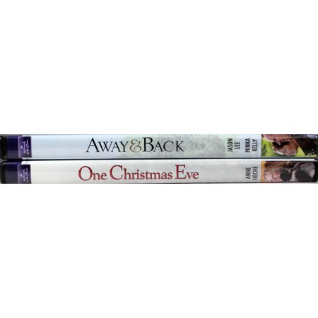 Away & Back and One Christmas Eve 2 NEW DVDs Hallmark Hall of Fame Family (Meanwhile Back At The Hall Of Justice)
