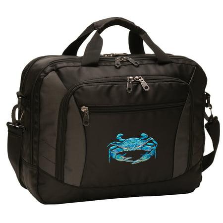 Blue Crab Laptop Bag Deluxe Blue Crab Computer Bags