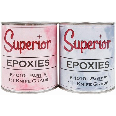 Superior Stone Products SUPERIOR EPOXY E-1010 Transparent Knife Grade 1:1 Mix Ratio- 2