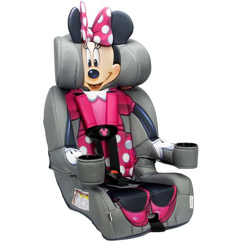 Kidsembrace Friendship Combination Harness Booster Car Seat, Minnie Mouse