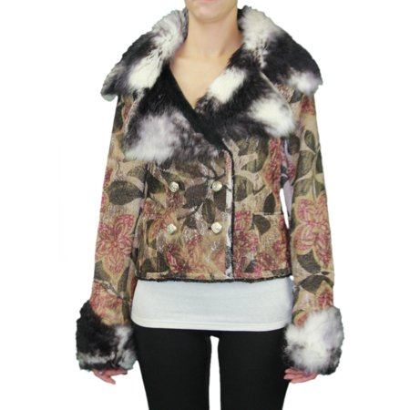 Women's MacAlister Pacifiss Crop Jacket - Cropped Jacquard Jacket