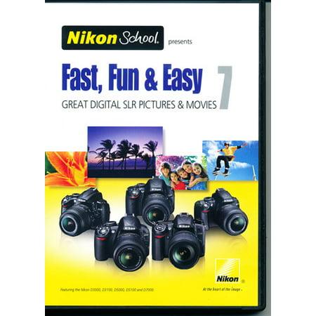 Nikon DVD Fast Fun & Easy 7 for D3000/D5000, D3100/D5100, D7000 ()