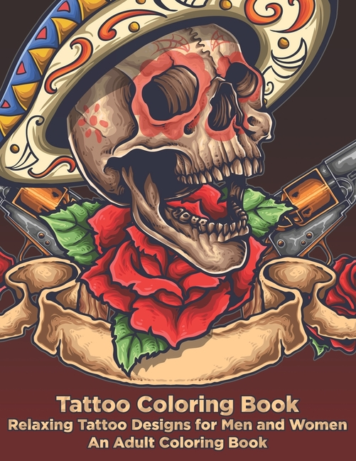 Great For Halloween Parties Detailed Designs for Stress Relief; Advanced Coloring For Men /& Women; Stress-Free Designs For Skull Lovers Skull Coloring Book for Adults
