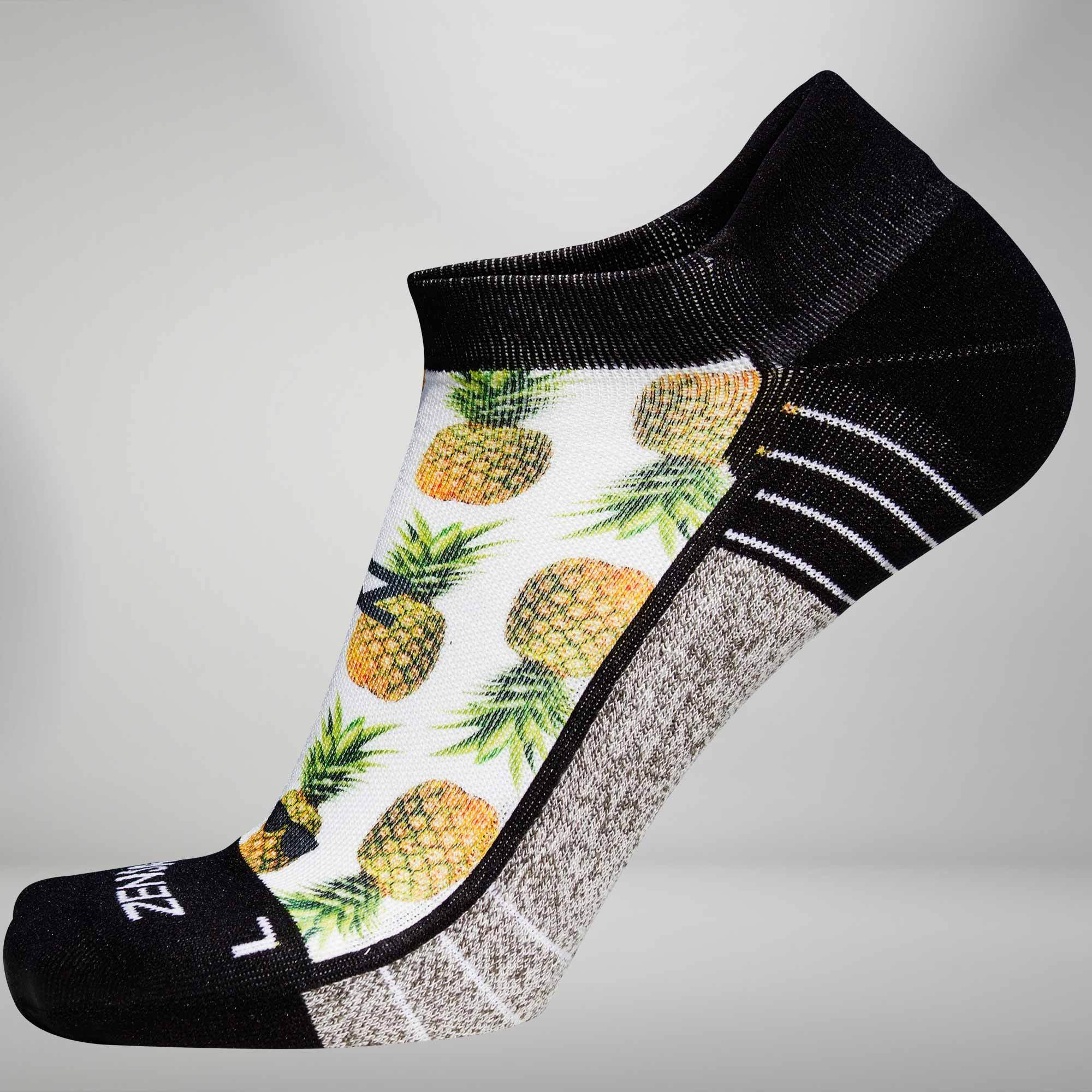 Foodie Socks (No-Show) Pineapple / S