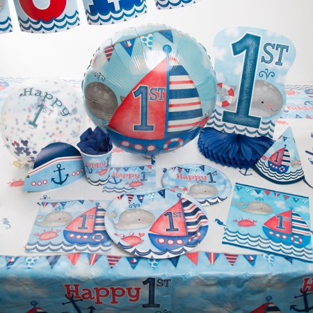 Nautical First Birthday Party Supplies