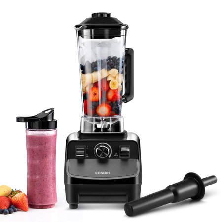 COSORI C900 Pro Blender(Recipe Book included) for Shakes and Smoothies,Vitamin and Nutrient Extraction Smoothie Blender Maker with Variable Speed Control, 60oz Pitcher & 20oz Travel