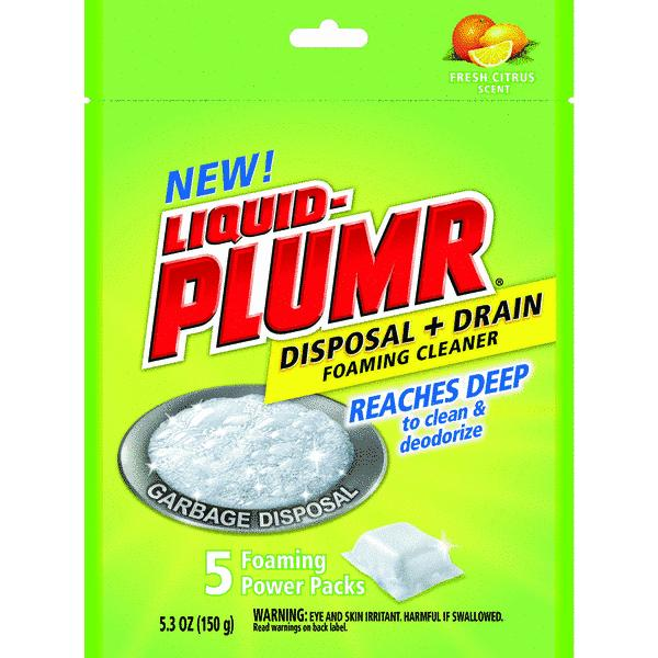 Liquid-Plumr Garbage Disposal Cleaner And Drain Cleaner