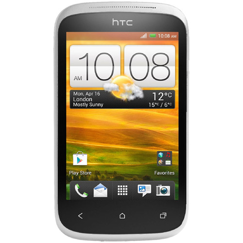 HTC Desire C A320e Android Cell Phone (Unlocked), Polar White