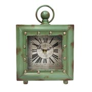 Ashton Sutton Quartz Case Table Clock