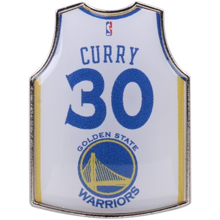 online retailer 5ae97 230e3 Stephen Curry Golden State Warriors Home Player Jersey Pin ...
