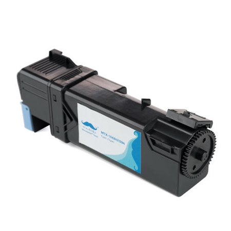 Xerox 106R01594 Compatible Cyan Toner Cartridge for Xerox Phaser 6500 Phaser 6500dn Phaser 6500n Xerox WorkCentre 6505DN WorkCentre 6505N- Moustache® - image 2 of 4