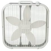 """Lasko 20"""" Box 3-Speed Fan, Model B20200, White"""