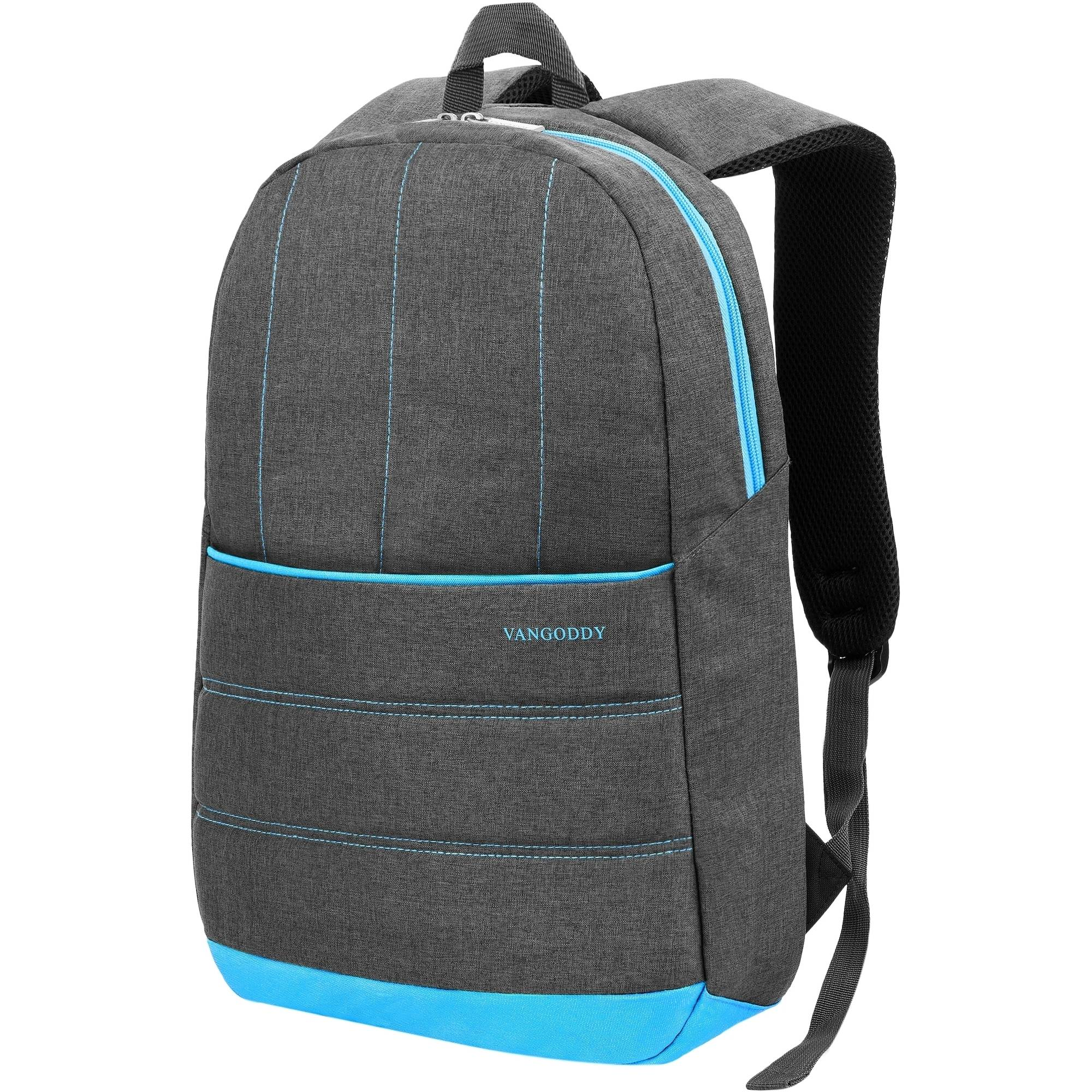 """Vangoddy Grove Padded Nylon School Hiking Office Laptop Backpack fits up to 15.6"""" Laptops"""