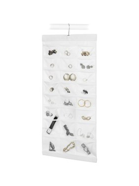 White Hanging Jewelry File