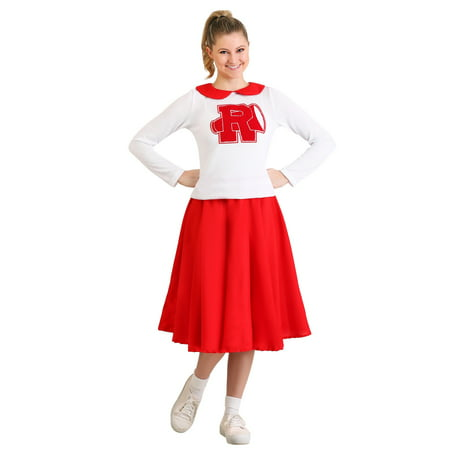 Women's Grease Rydell High Cheerleader Costume (Frenchie Costume Grease)
