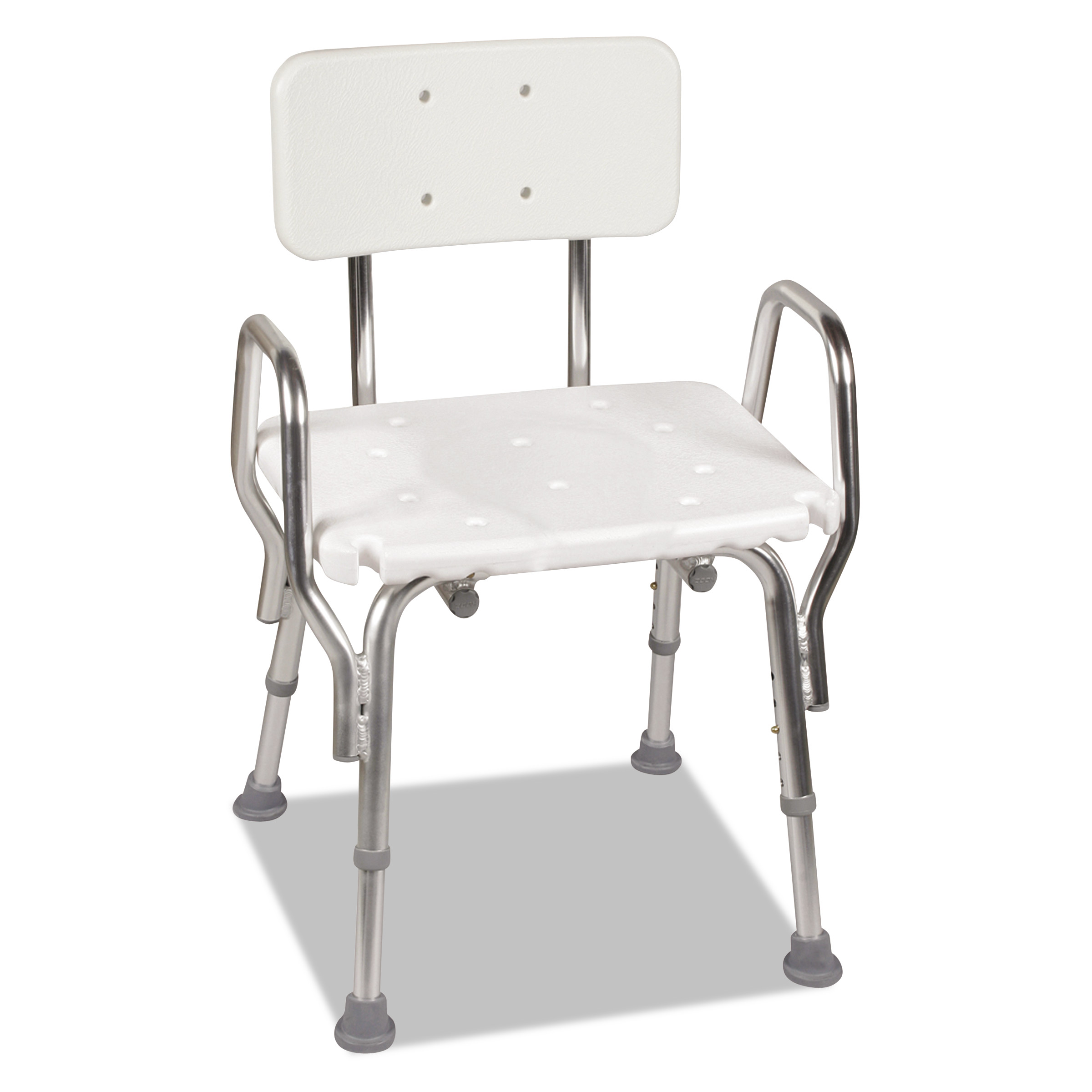 Dmi Shower Chair With Arms White