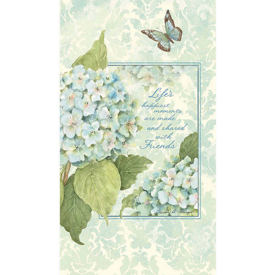 Lang Blue Hydrangea Address Book, Pocket