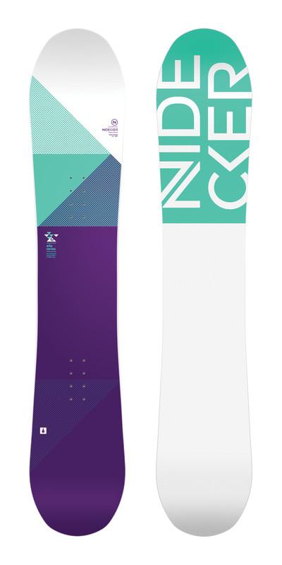 Nidecker Women's Elle Snowboard 2018 by Nidecker