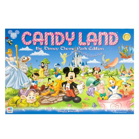 Disney Parks Exclusive Candyland Theme Park Edition Game - Tropical Themed Games