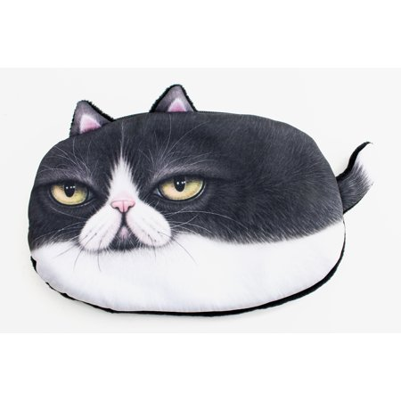 3D Grumpy Cat Small Purse Makeup bag Pouch (KT00064) Super Soft