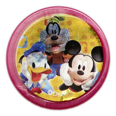 Disney's Mickey, Donald, and Goofy Sparkly Cover Hot Pink Case (Issue Stamp Cover)
