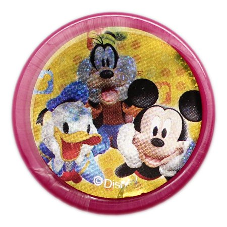Stamp Booklet Cover (Disney's Mickey, Donald, and Goofy Sparkly Cover Hot Pink Case)
