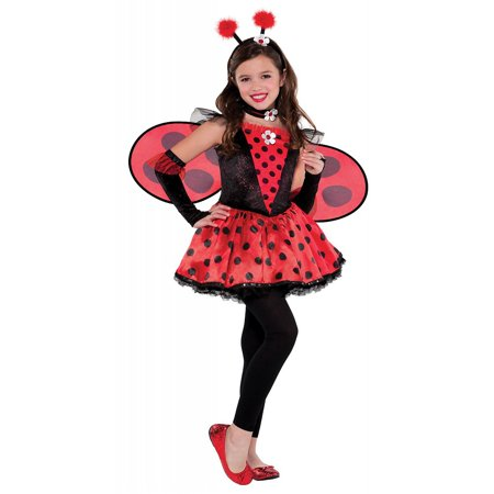 Totally Bug Child Costume Ladybug - Medium](Kids Lady Bug Costume)