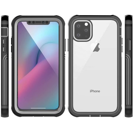 """AICase for iPhone 11 Pro Max (6.5"""") Case Built-in Screen Protector, Clear Case Full Body Protect Support Wireless - image 4 de 5"""