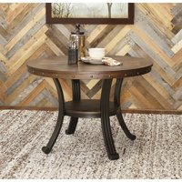 Powell Franklin Dining Table, Dark Brown