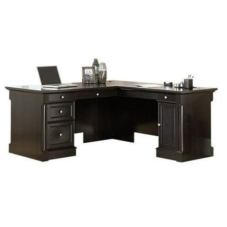 Bowery Hill L-Shaped Desk in Wind Oak - image 1 de 11
