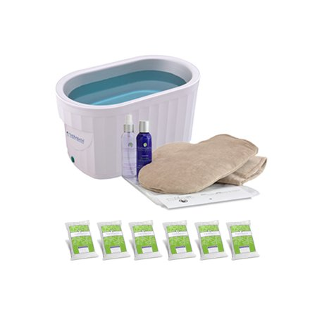 Therabath Professional Paraffin Wax Bath + Hand ComforKit ThermoTherapy Heat Professional Grade TB6 by WR Medical - 24lbs Cucumber Melon with - Therabath Professional Paraffin