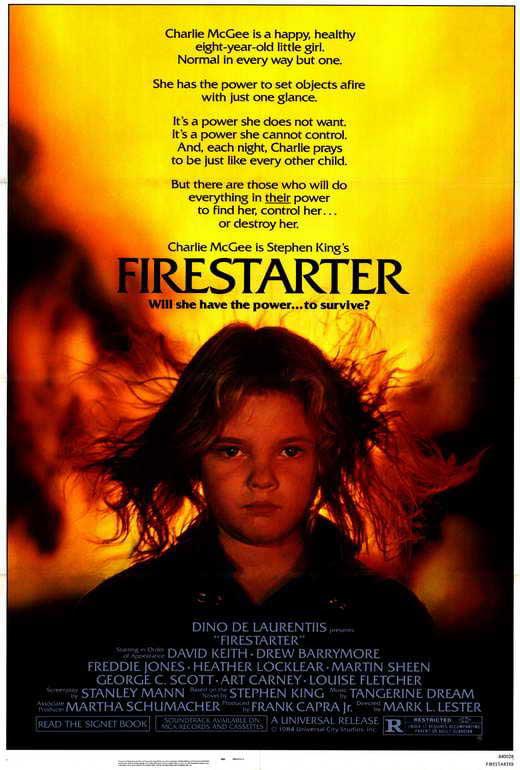 Firestarter POSTER Movie (27x40) by