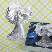 30 Guardian Angel themed Ornament Hanging angel with heart