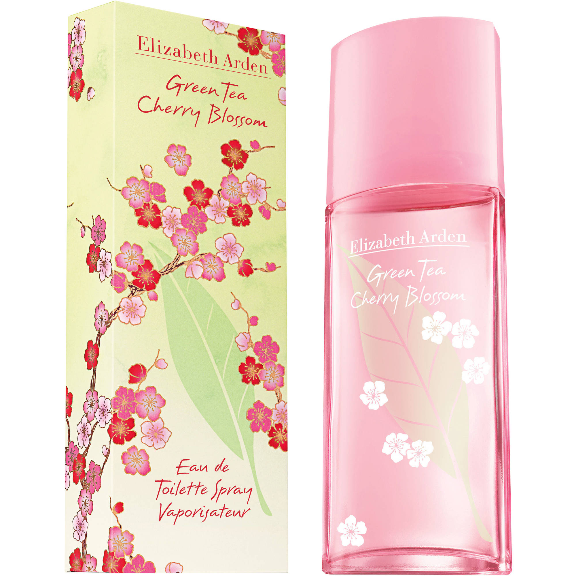 Elizabeth Arden Green Tea Cherry Blossom Eau de Toilette Spray, 3.3. fl oz