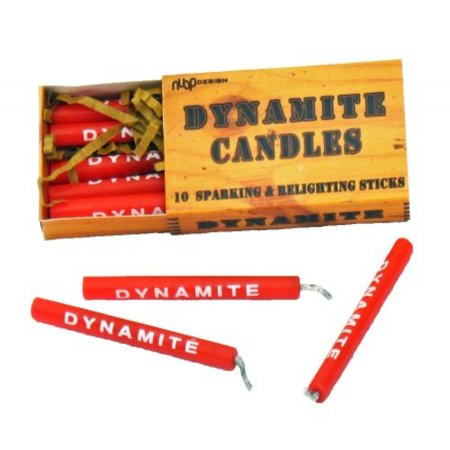 Nuop Dynamite Birthday Candles 10 By NuOp Design