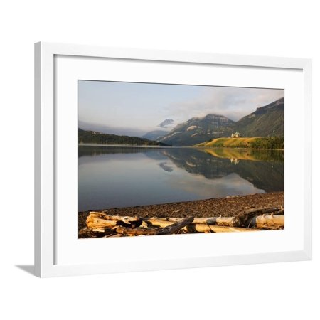 Canada, Alberta, Waterton Lakes NP, Prince of Wales Hotel Framed Print Wall Art By Jamie & Judy Wild