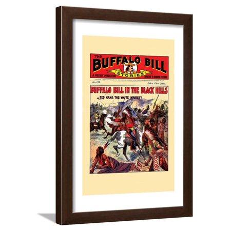Buffalo Bill Stories Framed Print Wall Art By Street & Smith Bruce Smith Signed Bills
