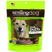 Herbsmith Smiling Dog Freeze-Dried Treats, Pork Puffs