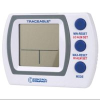 TRACEABLE 4627 Digital Thermometer, -58 Degrees  to 158 Degrees F for Wall or