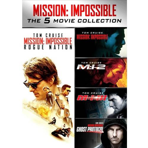Mission: Impossible 5-Movie Collection (DVD) (Walmart Exclusive) (VUDU Instawatch Included)