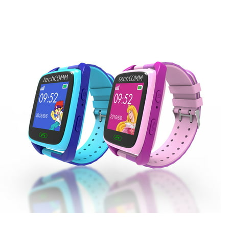 Techcomm Td 09 Kids Smart Watch For T Mobile Only With Gps And Fitness Tracker